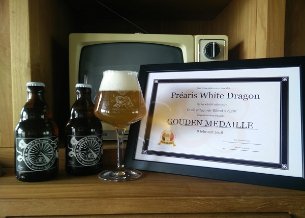 Gold Award for White Dragon