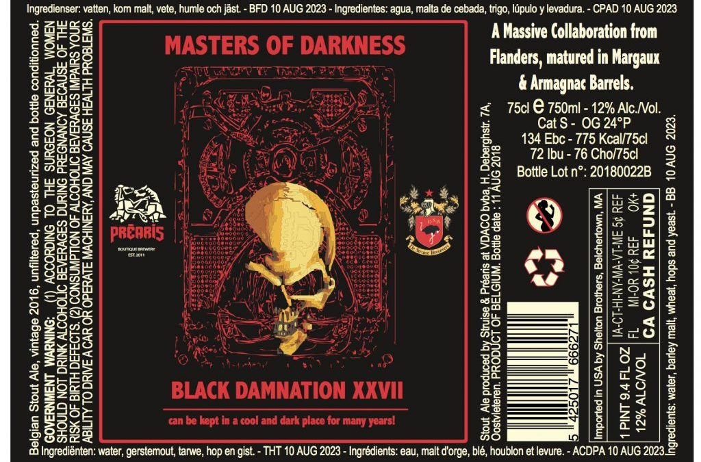 Masters of Darkness Release