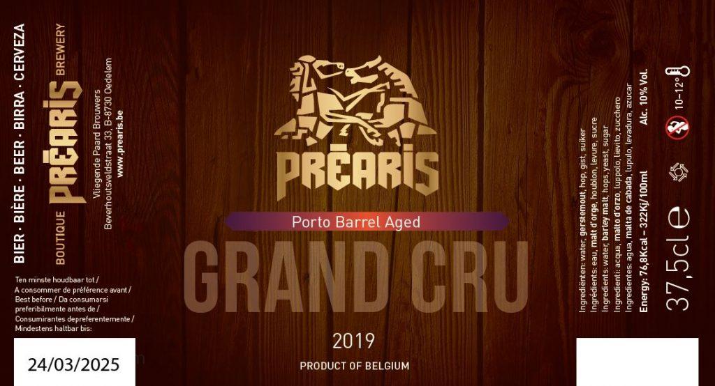 Préaris Grand Cru 2019 BA Porto